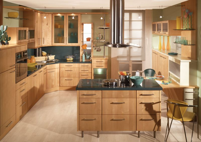 marvelous Kitchen Cabinet Layout Ideas Part - 3: 1. Obstructing the Kitchen Triangle