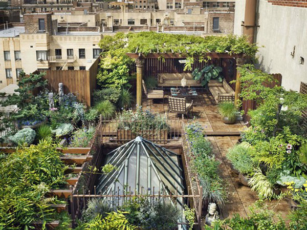 30 Rooftop Garden Design Ideas Adding Freshness To Your Urban Home - Design-gardens-ideas