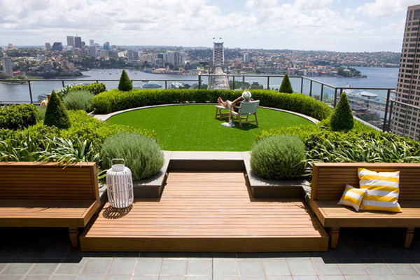 30 Rooftop Garden Design Ideas Adding Freshness to Your ...
