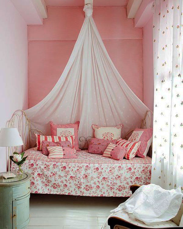 attractive Cute Room Ideas For Small Rooms Part - 7: Collect this idea photo of small bedroom design and decorating idea - pink  princess suite