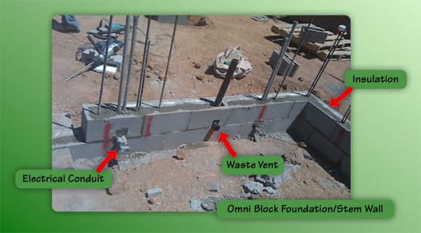New Insulated Stand Alone Concrete Wall System Omni Block