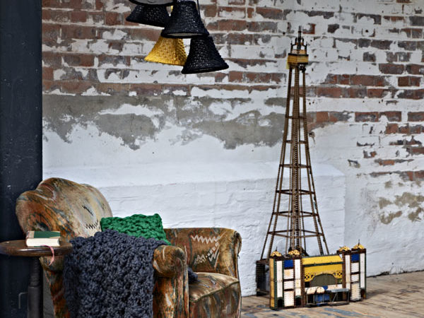 Exquisite Hand-Knitted Furnishings by Melanie Porter