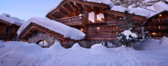 Luxurious Chalet Marco Polo Offering Extended Views of the Alps in Val d'Isère, France
