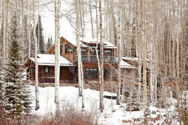 Mountain Lodge Blending Rustic and Modern Details in Colorado: Moody Cabin