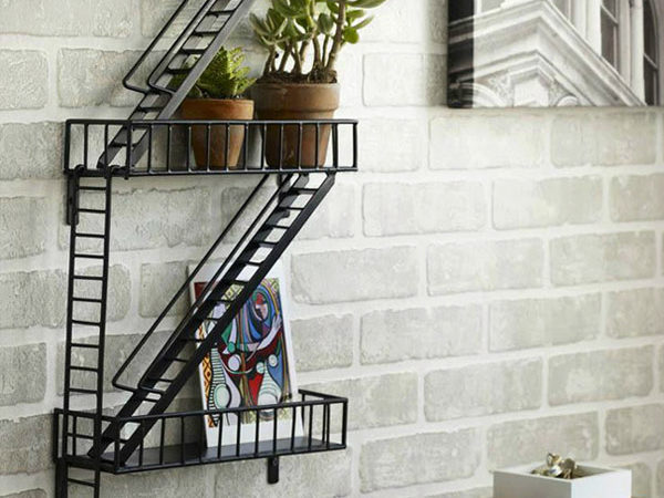 Slick Urban Shelf Perfect for Modern and Vintage Interiors with a Twist