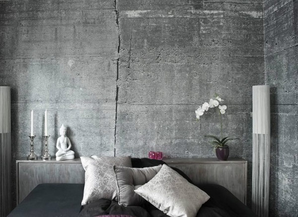 Concrete Wallpapers For An Original Industrial Look By Tom Haga