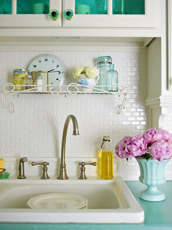 kitchen tiles color blue collect this idea 30 successful examples of how to add subway tiles in your kitchen