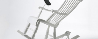 Power Generating Rocking Chair for Charging Your Favourite Gadgets: iRock