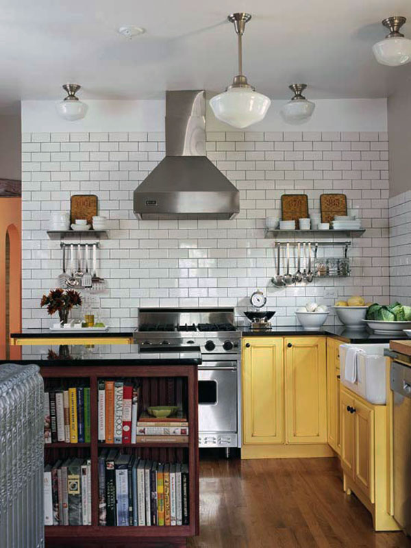 Subway Tiles Kitchen Design