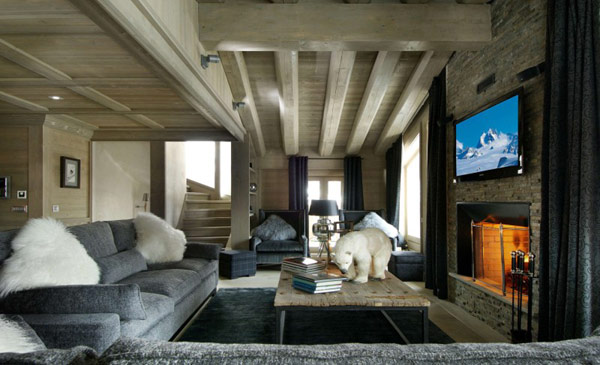 Striking Luxury Retreat in the French Alps: Black Pearl Chalet