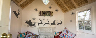 12 Original Christmas Decals For a Playful Holiday Atmosphere