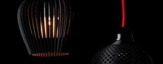 Modern and Elegant 3D-Printed Lampshades: Dentelle by Samuel Bernier