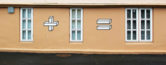 Mathematics Applied to Urban Elements: Ingenious Street Art by Aakash Nihalani
