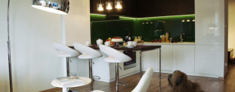 Colorful and Elegant Apartment in Poland by Michel Design