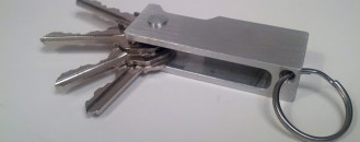 Multifunctional Keychain With Unexpected Abilities : KeyFlip  [Video]