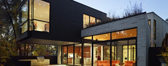 Infill Residential Project in Toronto: Cedarvale Ravine House