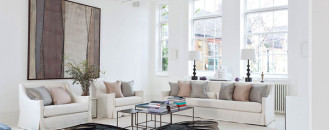 Simply Elegant: Blake House in London Exuding Inspirational Decors