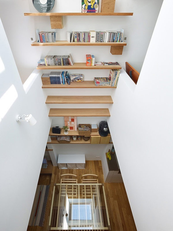 Flexible Modern Architecture: Surprising Narrow House in ... on small apartment building in japan, houses in tokyo japan, tall skinny building in japan, narrow house interior design, micro houses in japan,