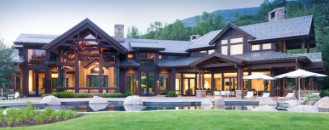 Alluring Retreat in Aspen, Colorado: Willoughby Way Chalet