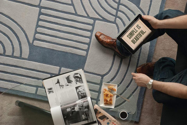 Terre Des Hommes Rug Collection Inspired by Aerial Theme