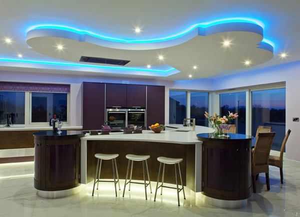 Edgy Kitchen Design With Family-Friendly Attributes