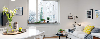 Bright And Cozy Apartment in Gothenburg Featuring Unique Splashes of Personality