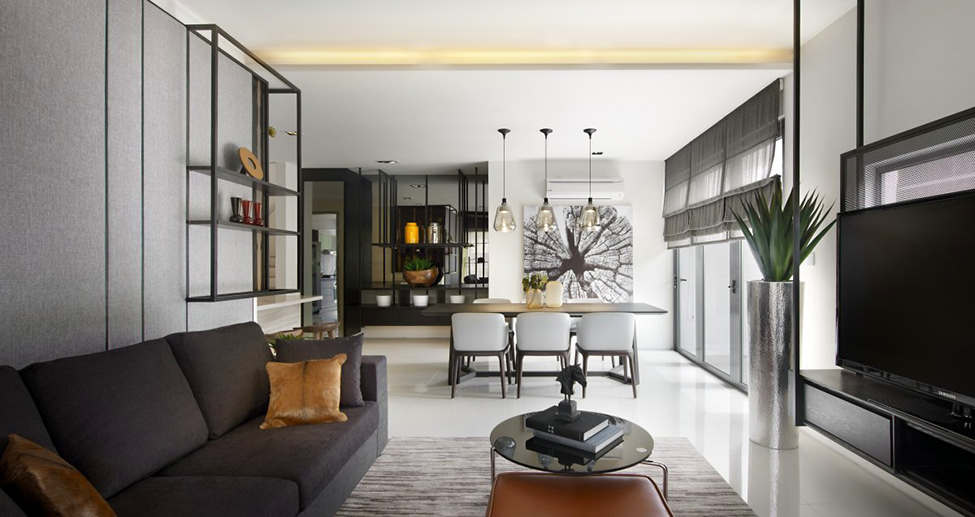 A Blend Of Creative Details: The Vale Townhouse In Kuala