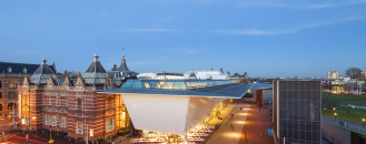 Daring Contemporary Addition to Amsterdam's Stedelijk Museum