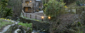 Enchanting Water Mill in Corwen, North Wales Adorned With Rustic Elements