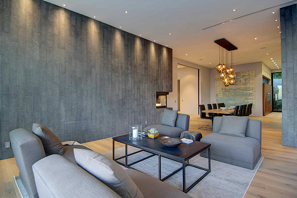 Grey Shades Living Space