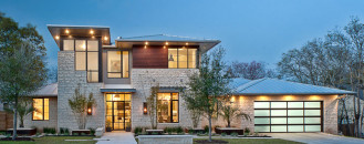 Reshaping Design Through Lighting: Cozy Luxury Home by Cornerstone Architects