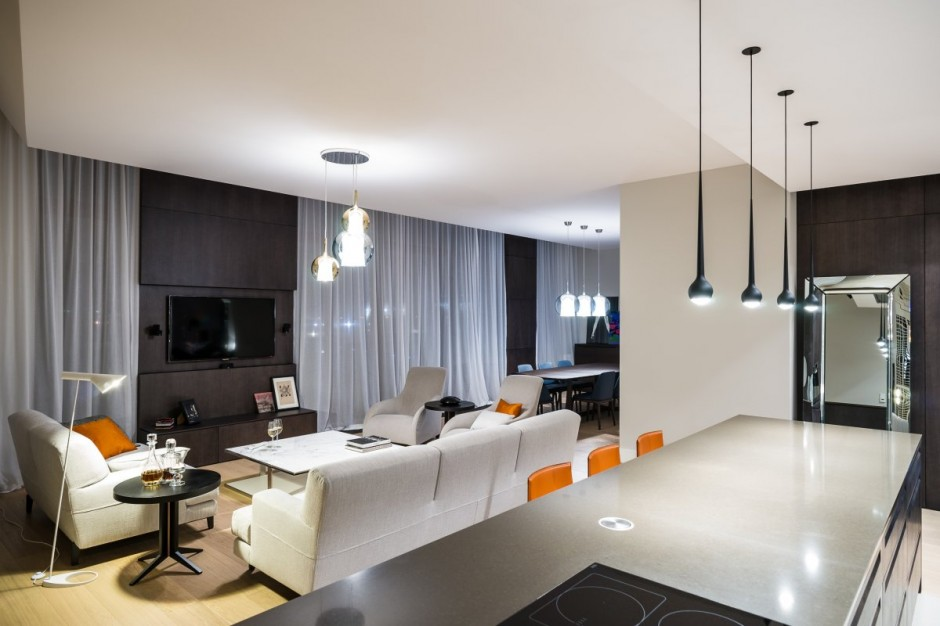 High-Tech And High-End Apartment In Warsaw By Republika