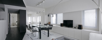 Modern Composition in Black&White : Room 407 Project in Tokyo