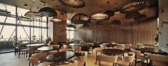 Inspired by a Sack Filled with Coffee Grains: Café House in Kosovo