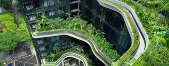 Organic Shapes and Ravishing Sky Gardens: PARKROYAL Hotel, Singapore