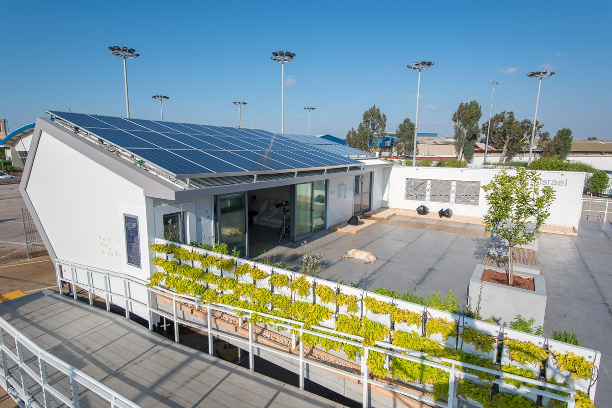 Team Israel S Net Zero Energy Building At Solar Decathlon