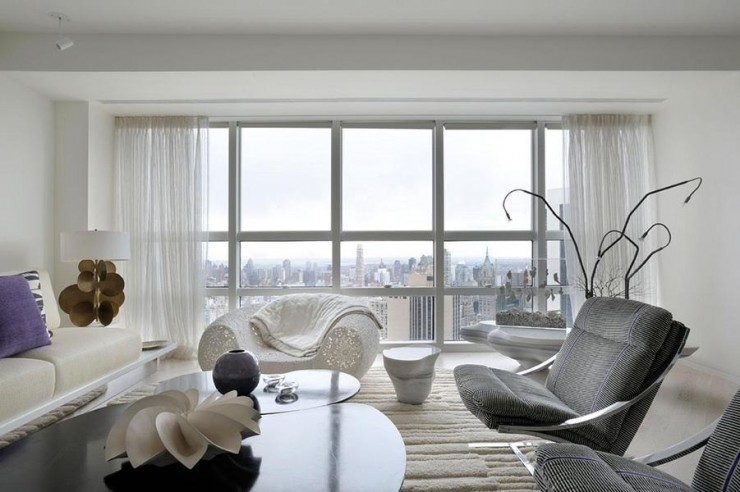 Ultra Modern Apartment Private Art Gallery Overlooking Central