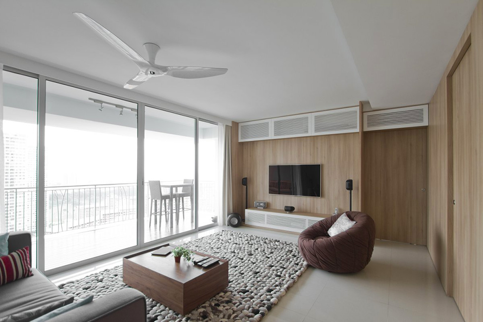 Architects Home In Singapore Natura Loft Apartment By Ao Studios
