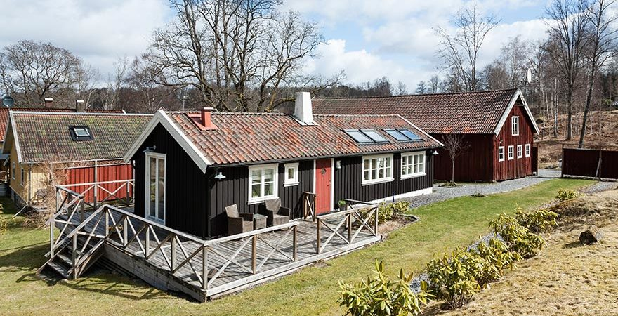Charming Rustic Home Surrounded by Woodland and Meadows in Sweden