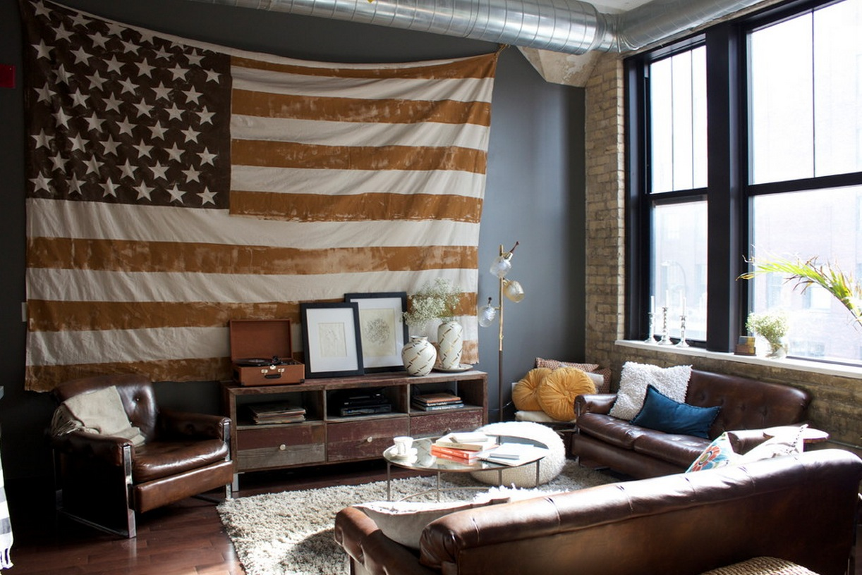 10 Ways to Bring Patriotic Touches Into your Home | Freshome.com