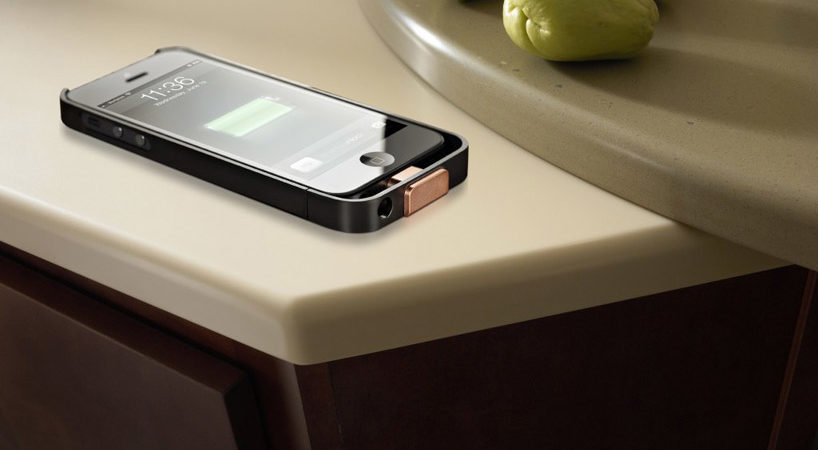 DuPont Corian Countertops: An Ingenious Way to Charge Your Gadget Wirelessly
