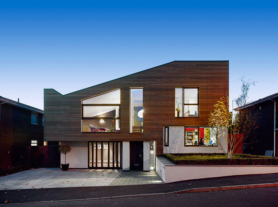 Modern and Warm Home With External Cladding by Stephenson ISA Studio