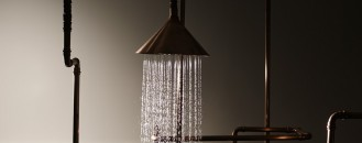 An Archetypal Approach to Showering: Axor Waterdream Installation by Front