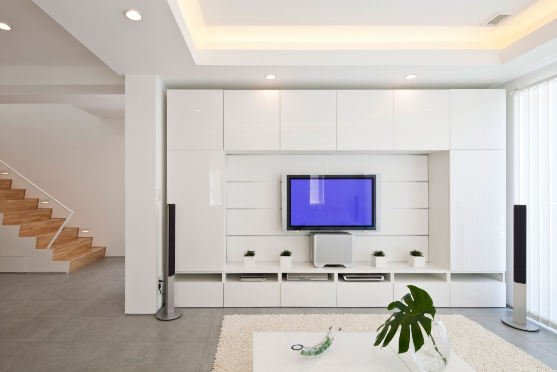 Collect this idea white living room