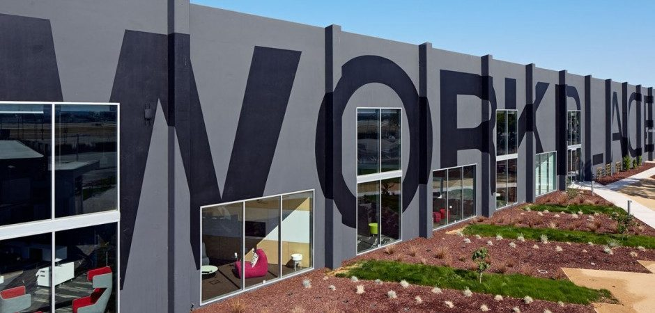 Playful and Ambitious One Workplace Project in Santa Clara, California