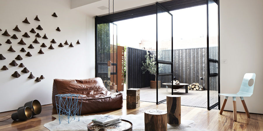 Industrial Elements in a Perfect Design Composition: Hardiman Street Extension
