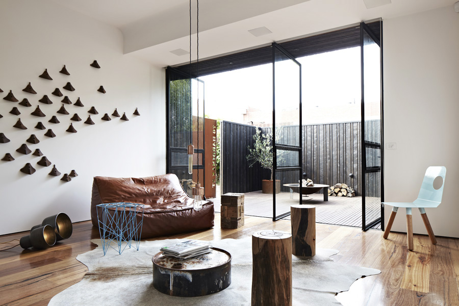 Industrial Elements in a Perfect Design Composition: Hardiman Street ...