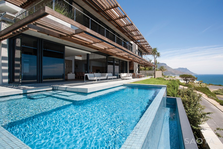 Extravagant Modern Living in South Africa: SAOTA's Kloof 151 Project