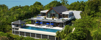 Exotic Thailand Villa Unveiling Panoramic Views of the Phuket Foothills