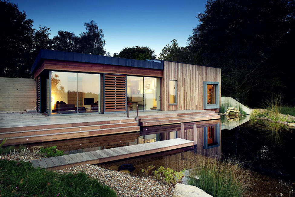 Sustainable Retreat Offering a Great Living Standard in the UK: New Forest House